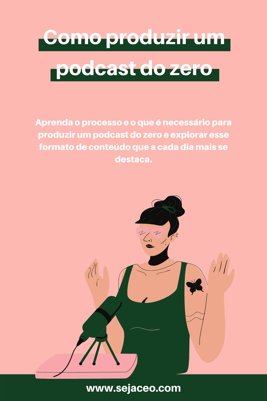 Como produzir um podcast do zero