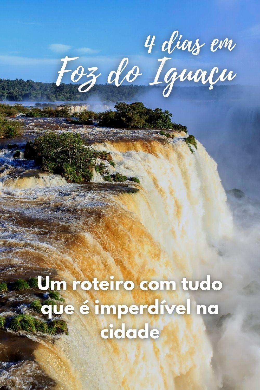 Cataratas do Iguaçu vistas de cima