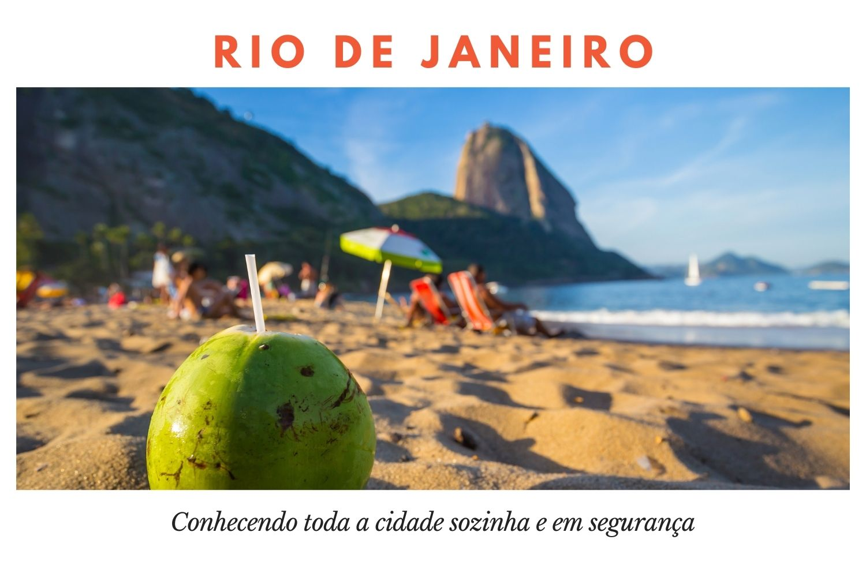 Sozinha no Rio de Janeiro , dicas de segurança